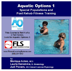 Aquatic Options 1: Special Populations & Post Rehab Fitness Training Image