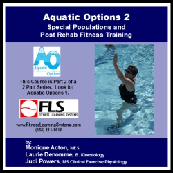 Aquatic Options 2: Special Populations & Post Rehab Fitness Training Image